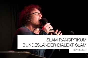 Slam Panoptikum Dialekt Slam