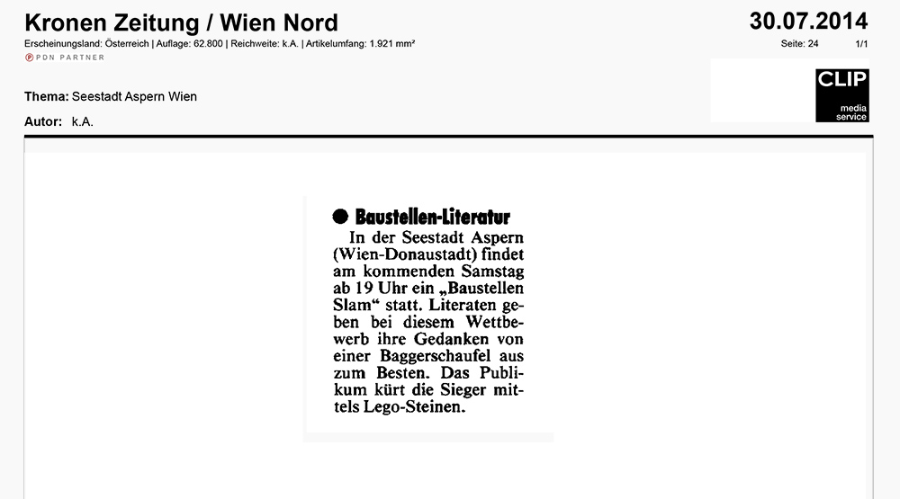 14-07-30 Kronen Zeitung_Baustellen Slam