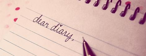 dear-diary header