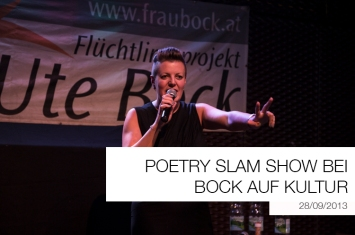 Poetry Slam Show Bock auf Kultur Titelbild