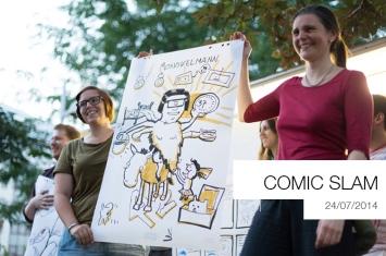 Comic Slam Fotos