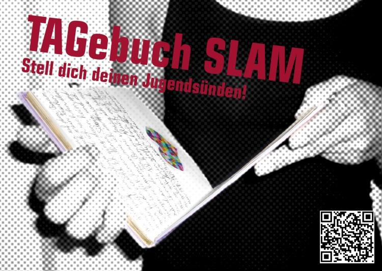TAGebuch Slam Flyer
