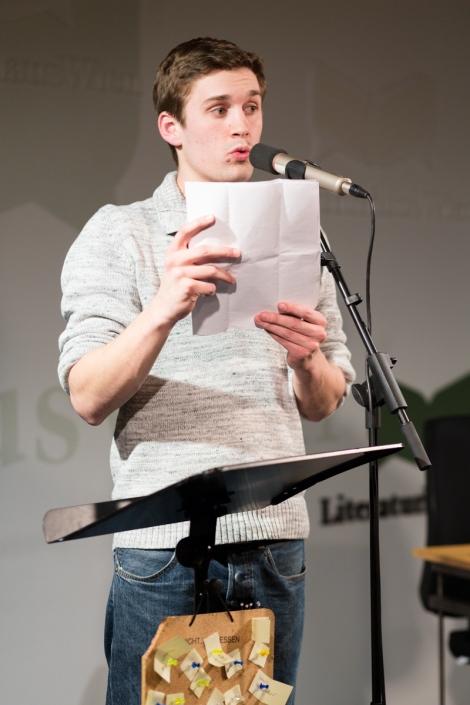 Thomas Schutte, Slam B, 14.03.2014. Foto: (c) anna konrath