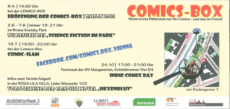 Comic Slam Flyer