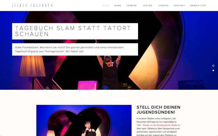 Neue Website: www.liebestagebuch.at